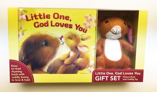 Little One, God Loves You Gift Set [With Plush]