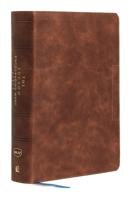 Nkjv, Lucado Encouraging Word Bible, Brown, Leathersoft, Thumb Indexed, Comfort Print
