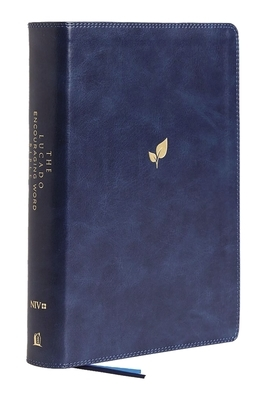 Niv, Lucado Encouraging Word Bible, Blue, Leathersoft, Thumb Indexed, Comfort Print