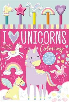 I Love Unicorns Coloring