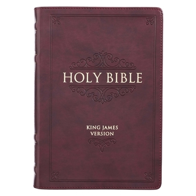 KJV Bible Thinline Burgundy