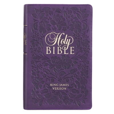 KJV Bible Giant Print Purple