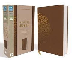 NIV Reader's Bible Chestnut