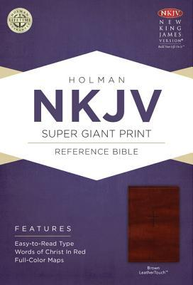 Super Giant Print Reference Bible-NKJV
