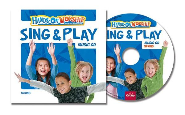 Hands-On Worship Sing & Play CD, Spring
