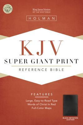 Super Giant Print Reference Bible-KJV