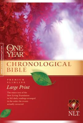 One Year Chronological Bible-NLT-Premium Slimline Large Print