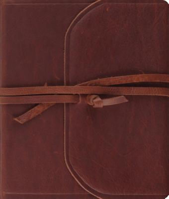 Journaling Bible-ESV-Strap Flap