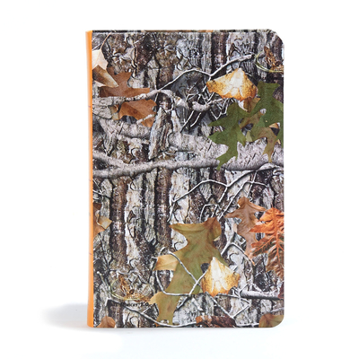 CSB Sportsman's Bible: Large Print Personal Size Edition, Mothwing Camouflage Leathertouch