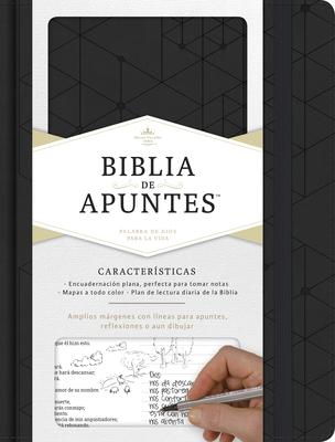 Rvr 1960 Biblia de Apuntes, Negro Simil Piel