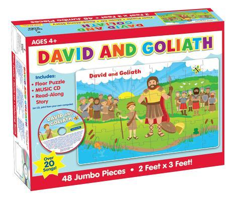 David and Goliath Floor Puzzle & CD