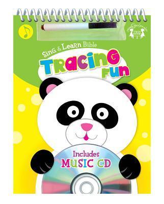 Bible Tracing Fun Spiral Wipe-Clean Workbook & CD W/Marker