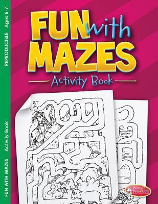 Fun with Mazes: Activity Book for Ages 5-7 (Pack of 6)
