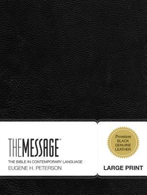 Message Large Print Bible-MS
