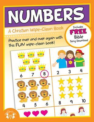 Numbers Christian Wipe-Clean Workbook