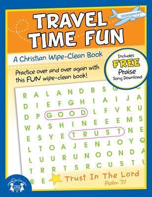 Travel Time Fun Christian Wipe-Clean Workbook