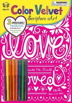 Love 1 John 4:19 Color Velvet Art