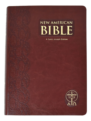 Giant Print Bible-Nab-St. Joseph