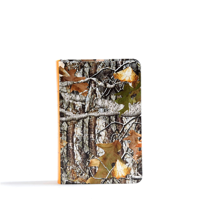 CSB Sportsman's Bible: Large Print Compact Edition, Mothwing Camouflage Leathertouch