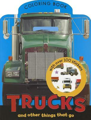 Trucks and Other Things That Go Coloring Book