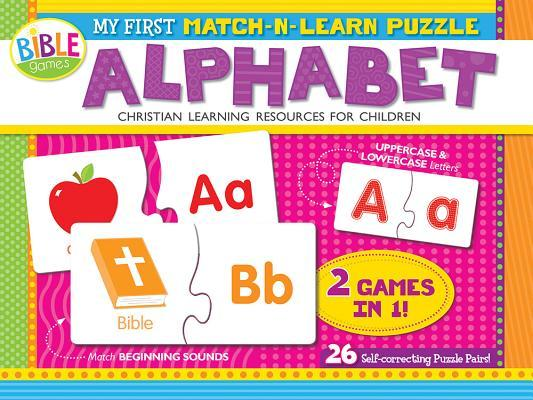 My First Match-N-Learn Puzzle: Alphabet: 26 Self-Correcting Puzzle Pairs