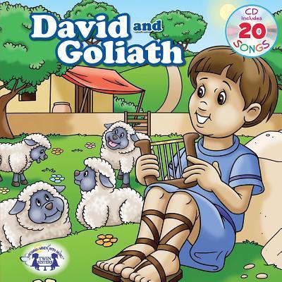 David & Goliath Padded Board Book & CD
