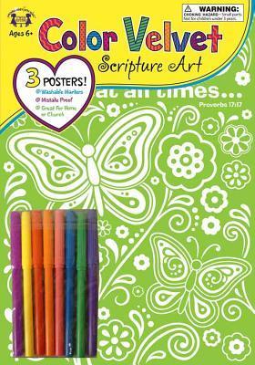 Friendship Proverbs 17:17 Color Velvet Art