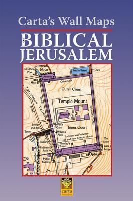 Carta's Wall Maps of Biblical Jerusalem
