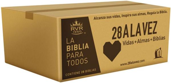 Rvr60-Santa Biblia - Edicion Economica / Paquete de 28