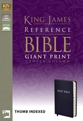 Reference Bible-KJV-Giant Print Center Column