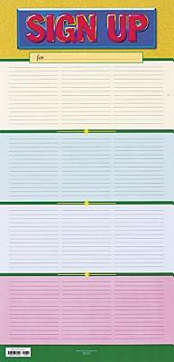 Sign-Up Chart Flat