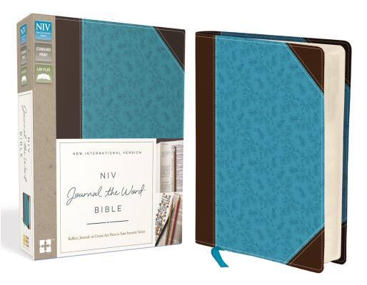 NIV, Journal the Word Bible, Imitation Leather, Brown/Blue