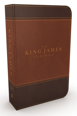 The King James Study Bible, Imitation Leather, Brown, Full-Color Edition