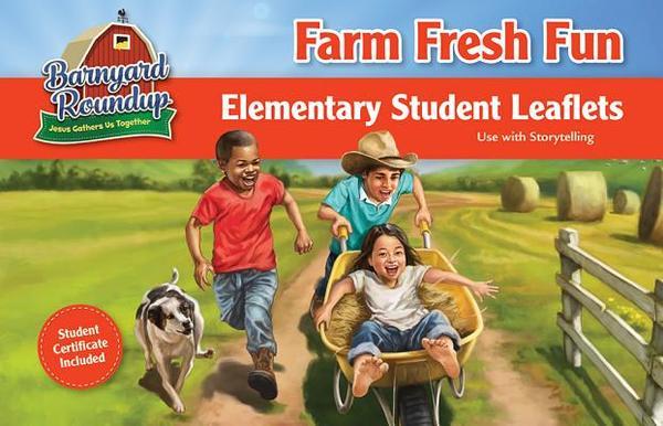 Barnyard Roundup Farm Fresh Fun Elementary Leaflets