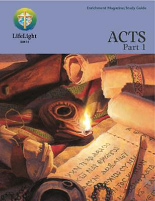 Acts, Part I Enrichment Magazine/Study Guide