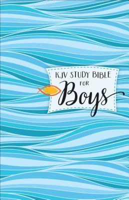 KJV Study Bible for Boys Hardcover