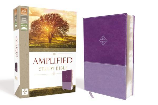 Amplified Study Bible, Imitation Leather, Purple