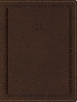 NIV, Journal the Word Bible, Imitation Leather, Brown