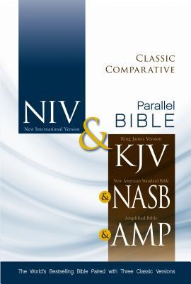 Classic Comparative Side-By-Side Bible-PR-NIV/KJV/Nasv/Am
