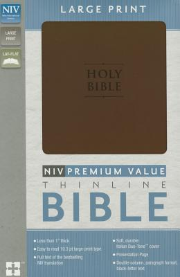 Premium Value Thinline Bible-NIV-Large Print