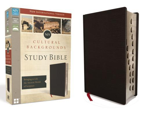 NIV, Cultural Backgrounds Study Bible, Indexed, Bonded Leather