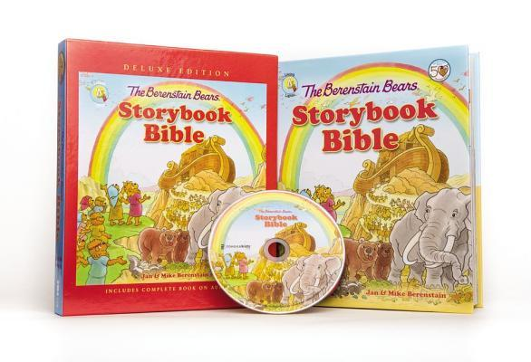 The Berenstain Bears Storybook Bible Deluxe Edition: With CDs [With CD (Audio)]
