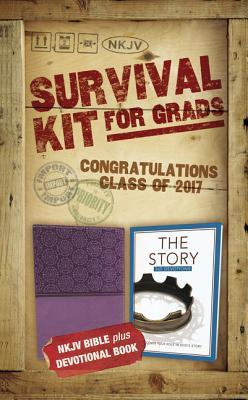 NKJV, 2017 Survival Kit for Grads, Girls' Edition, Purple, Red Letter Edition