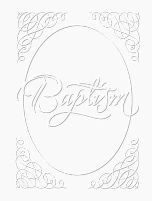 Baptism Certificate [With Envelopes]