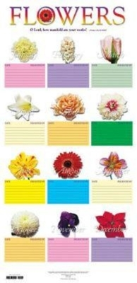 Flower Chart in Tube