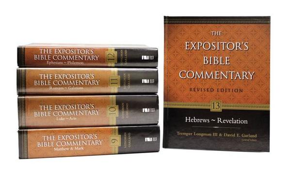 Expositor's Bible Commentary---Revised: 5-Volume New Testament Set