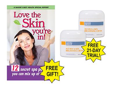Age Spot & Skin Brightening Cream