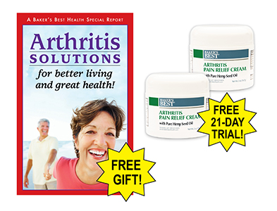 Arthritis Pain Relief Cream with Pure Hemp Seed Oil