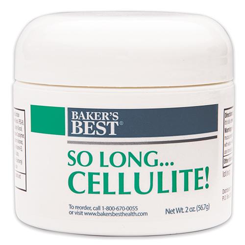 So Long...Cellulite! Cream