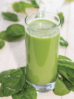 Nutrient-packed smoothie won't slow you down!